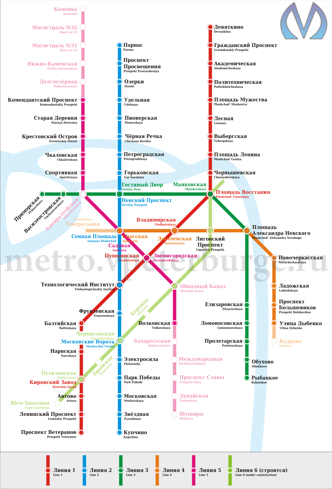 Метро волковская в санкт-петербурге на схеме метро