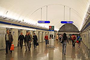 Фотогалерея станции Парк Победы