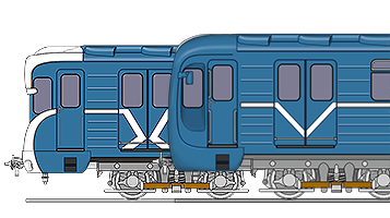 Вагоны модели 81-540.8/541.8