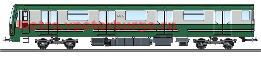 Вагоны модели 81-722.3/723.3/724.3